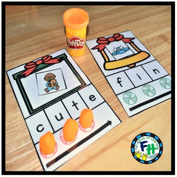 Christmas Kindergarten Math & Literacy Centers