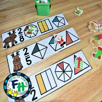 Christmas Kindergarten Math & Literacy Centers BUNDLE