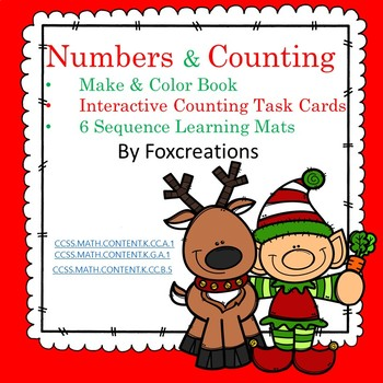 Christmas Early Learning Numbers and Counting Centers