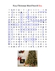 Christmas Easy Word Search