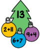 Christmas Editable Addition and Subtraction Activity