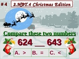 Christmas Edition 2nd Grade Math 2.NBT.4 Compare Two Three-Digit Numbers