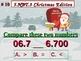 Christmas Edition 5th Grade Math 5 NBT.3 Compare Decimals