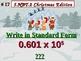 Christmas Edition 5th Grade Math 5.NBT.2 Multiply & Divide
