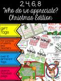 Christmas Edition… Appreciation Gift Tags