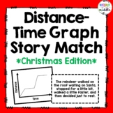 Christmas Edition: Distance-Time Graph Story Match: 7.P.1.