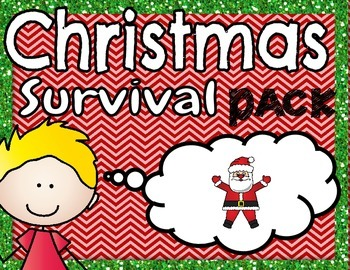 Christmas Survival Pack- NO PREP