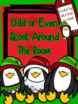 Christmas Elf Odd or Even Scoot