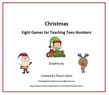 Christmas Eight Games For Teen Numbers