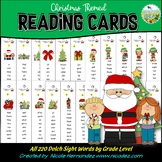 Sight Words -  Christmas Theme Reading Cards