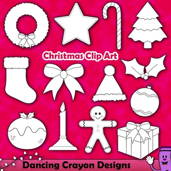 Christmas Clip Art | Christmas Ornaments and Decorations