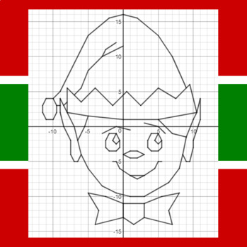 Christmas Elf - A Math-Then-Graph Activity - 15 Systems