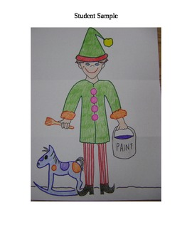 Christmas Elf - A December Listening Activity