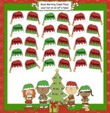 Christmas Elf Attendance Interactive Smartboard Morning