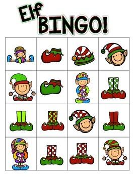 Christmas Elf BINGO!