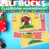 Christmas Activities - Elf Bucks - Behavior Incentives for December