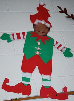 Christmas Elf Craftivity (YOUR Students!)