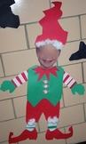 Christmas Elf Craftivity (YOUR Students!)