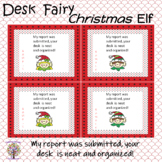 Christmas Elf Desk Fairy
