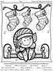 Christmas Math Activities ~ Christmas Elf Equations ~ Colo