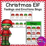 Christmas Elf Feelings and Emotions Bingo