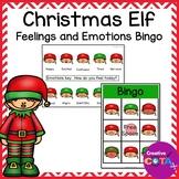 Christmas Elf Activity Feelings and Emotions Bingo