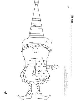 Christmas Elf Glyph