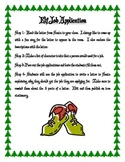 Christmas Elf Job Application