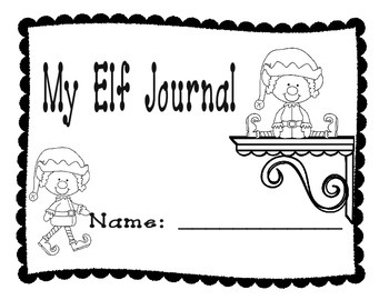 Christmas Elf Journal