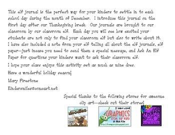 Christmas Elf Journal