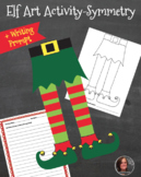 Christmas Elf Legs Art Activity & Writing Prompt -  Christ