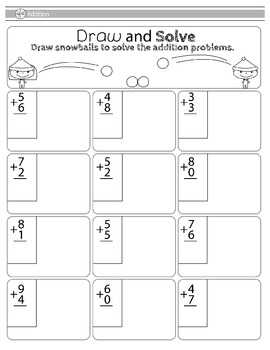Christmas Elf Mini Math Pack