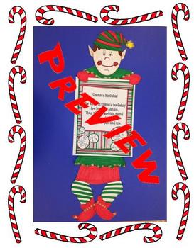 Christmas Elf Paper Holder