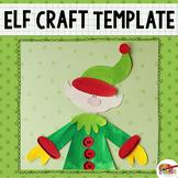 Christmas Elf Craft Printable Template