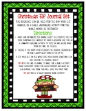 Christmas Elf Report Journal and Naming Activity