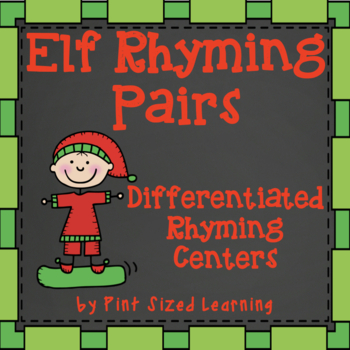 Christmas Elf Rhyming