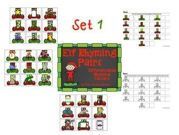 Christmas Elf Rhyming
