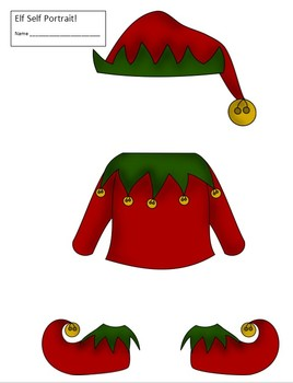 Christmas Elf Self Portrait!