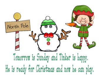 Christmas Elf - Sight Word Reader