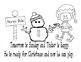 Christmas Elf - Sight Word Reader and Activities