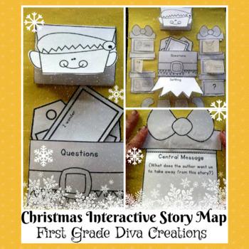 Polar Express~Printable Interactive Elf Themed Story Map