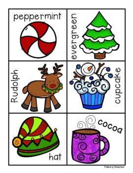 Christmas Elf Syllables Sort Practice