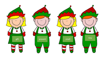 Christmas Elf Synonym Matching