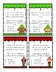 Christmas Elf Topple Blocks Figurative Language Review Game