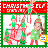 Elf on a Classroom Shelf: Christmas Craft Project for Pres