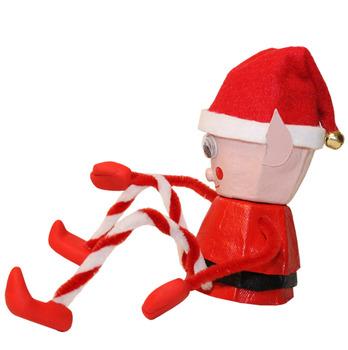 Christmas Elf egg carton craft