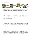 Christmas Elf themed word problems 1.OA.1, 2.OA.1