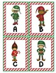 Christmas Elves Alphabet Scavenger Hunt: Upper and Lowercase Letters