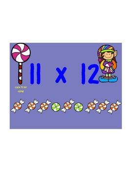 Christmas Elves Candy Multiplication Koosh Game