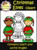 Christmas Elves Clip Art (School Designhcf)